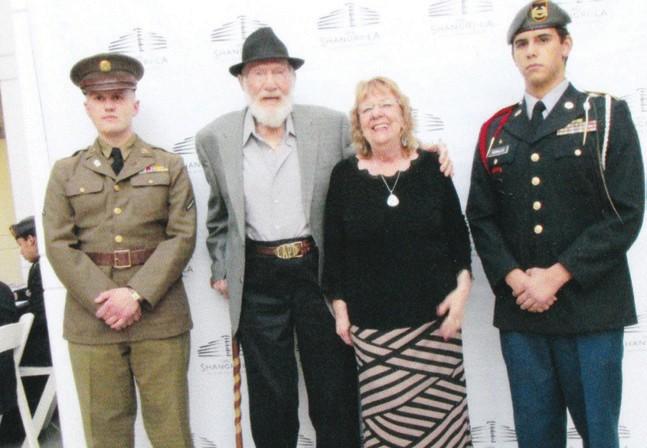 Hank & Donna Weldon (center) at the Diamond Jubilee celebration of the Shangri-La Hotel in Santa Monica.
