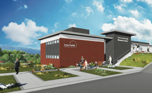 Artisti's rendering of the Veteran and Family Resource Center.