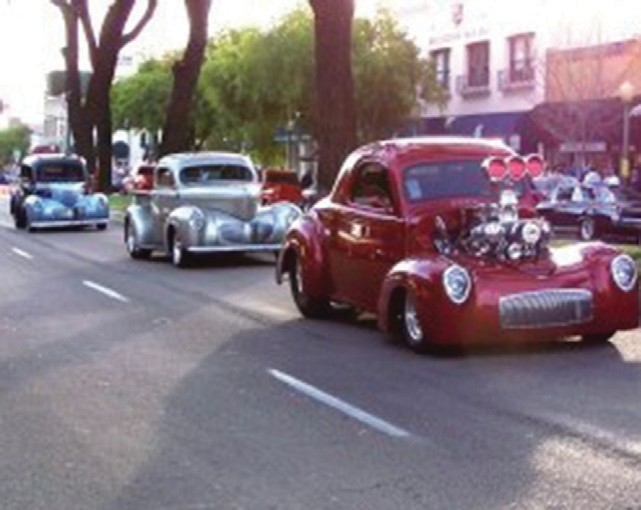 The Willys Americar will be featured at the second Friday of Cruisin' Grand Escondido on April 10.
