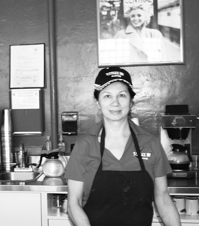 Suzanne Iseminger is the owner of Suzie Q's Diner in Escondido. Look out for her homebaked cinnamon rolls on weekends.