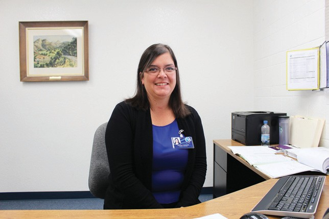 Above, Vanessa Velasquez, is the new manager of accounting at Valley Center Municipal Water District. Below, Michelle Wick has joined the engineering department at the district.
