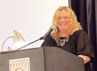 Alicia Reeves, 2015 Chamber board of directors chairman.