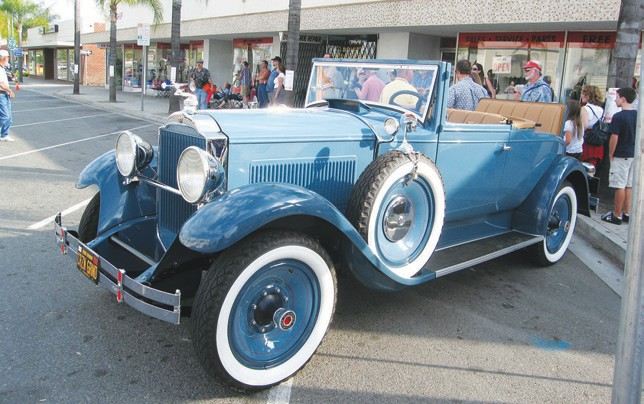 One of the nicest cars that will be featured at the June 19 Grand D'elegance is Karl Ramsing's 1929 convertible coupe.