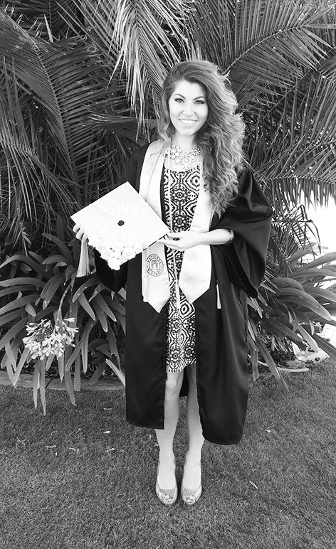 Briana DeLessio has earned a BSN from National University. The daughter of Jack & Carol DeLessio, she currently works at new Palomar Hospital.