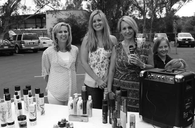The crew of Serendipity Hair & Nail Salon.