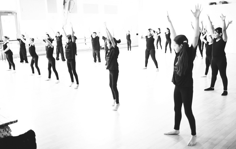 "The use of dance is an integral part of the program at ""A Step Beyond."""