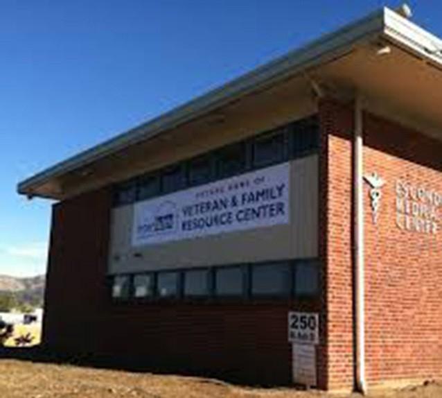 The site of the future Interfaith Veteran and Family Center in Escondido.