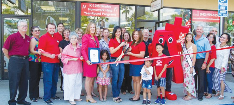 Escondido Chamber welcomed Mathnasium of South Escondido as a new Chamber member with a Ribbon Cutting this week. Learn more about Mathnasium at their website, http://www.mathnasium.com/southescondido