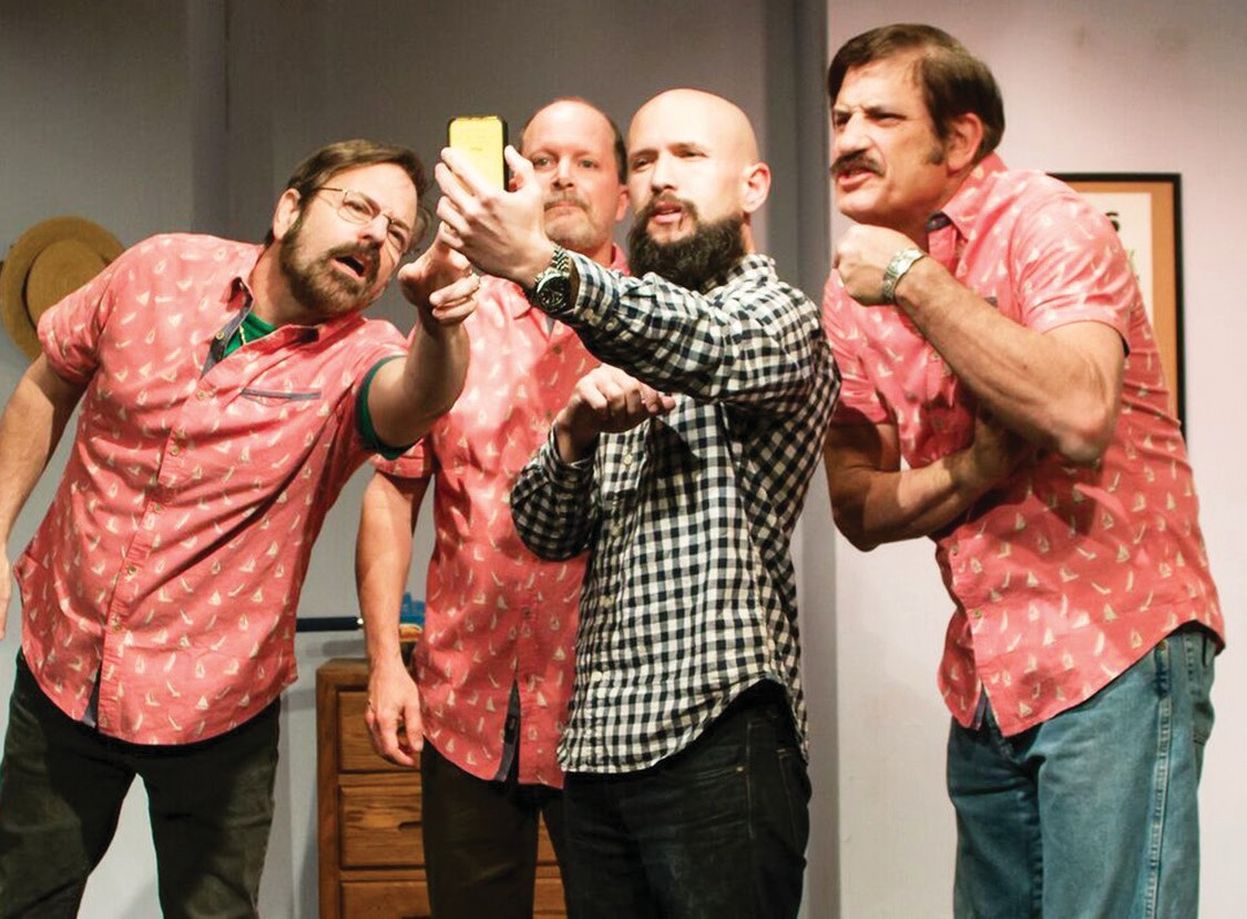 The Fabulous Lipitones, a barbershop quartet, will continue to play at the Patio Playhouse in Escondido until March 13.
