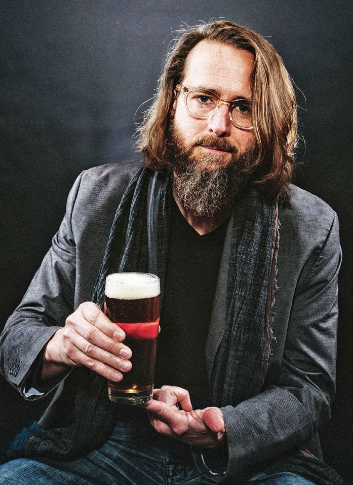 RIGHT: Greg Koch, co-founder of Stone Brewing Co., won the California Dreamer award from Visit California on February 23. The Escondido business is also opening a new Stone Brewing restaurant in Berlin.