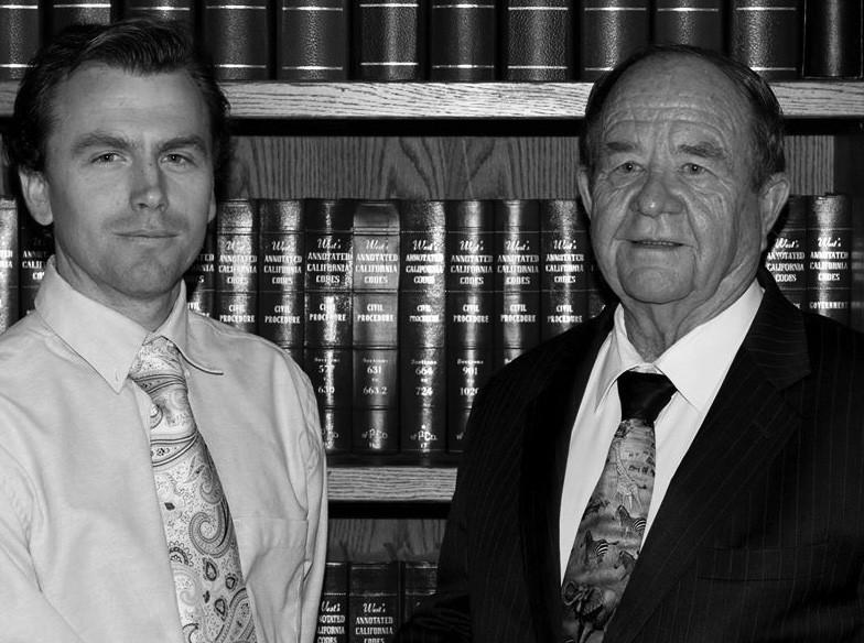 K. C. Satterlee, left, and the late John Smylie, right.