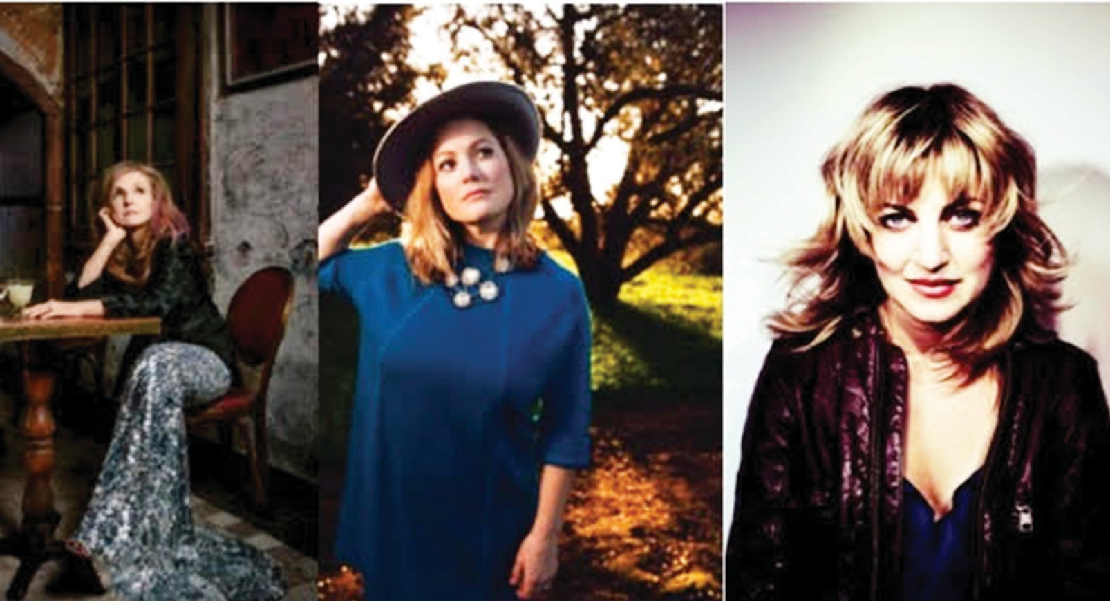 Songwriting giants Patty Griffin, Sara Watkins and Anaïs Mitchell.