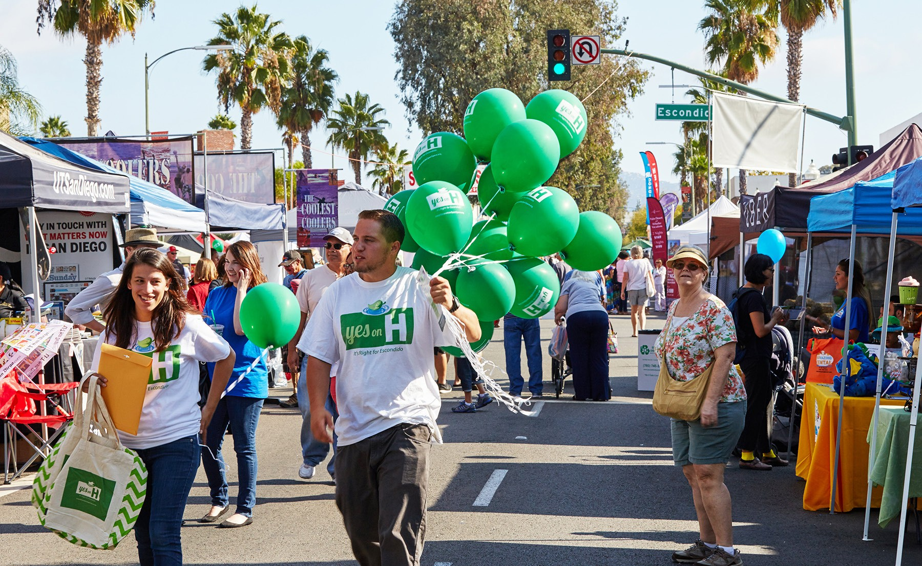 Last year's Grand Avenue Festival and Street Fair attracted thousands of people to a multi-block area in downtown Escondido.