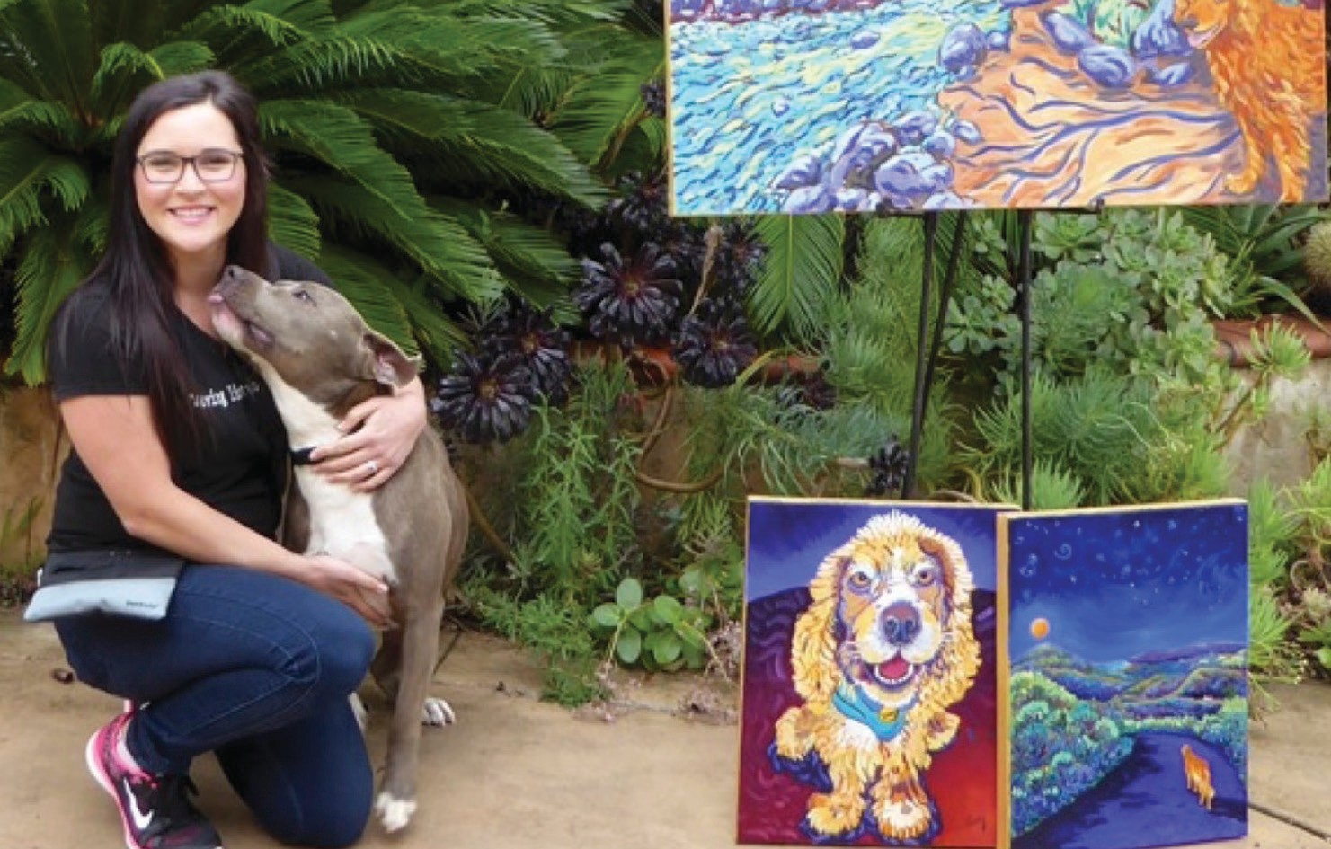 Award winning artist Cathy Carey will hold a fundraiser to benefit Shelter to Solder.
