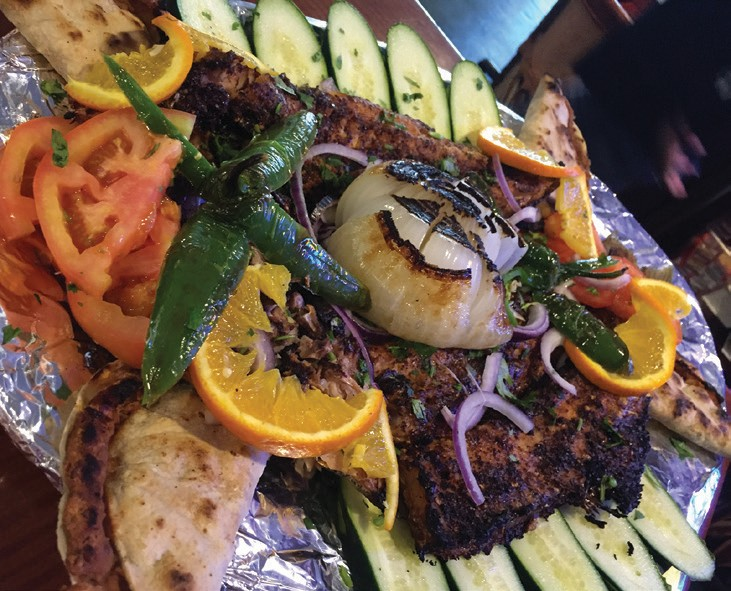 Pescado A las Brasas: A beautiful presentation that takes 20 minutes to create. But is worth the wait.