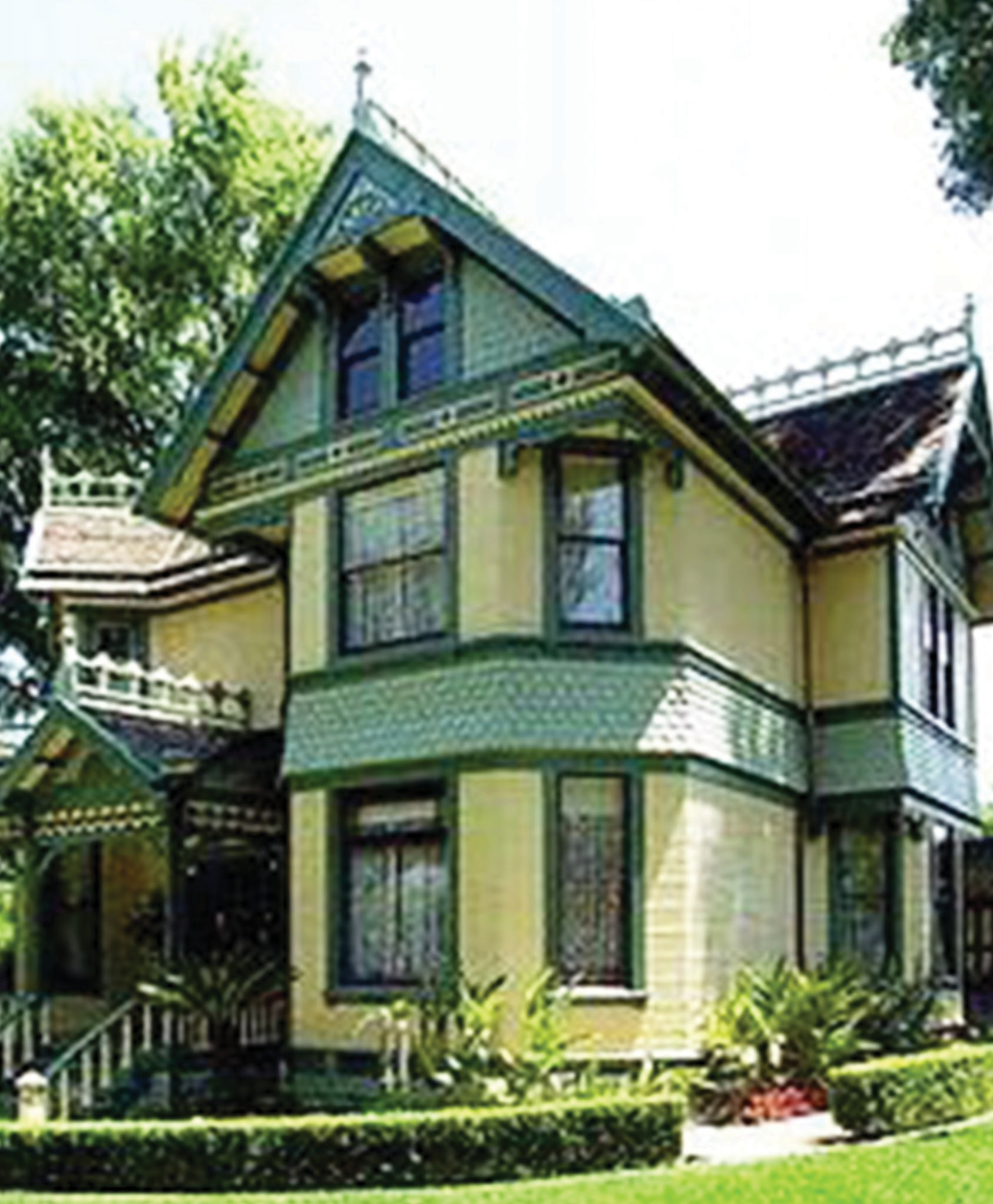 Escondido's Beach House, built in 1896 is the city's oldest home.