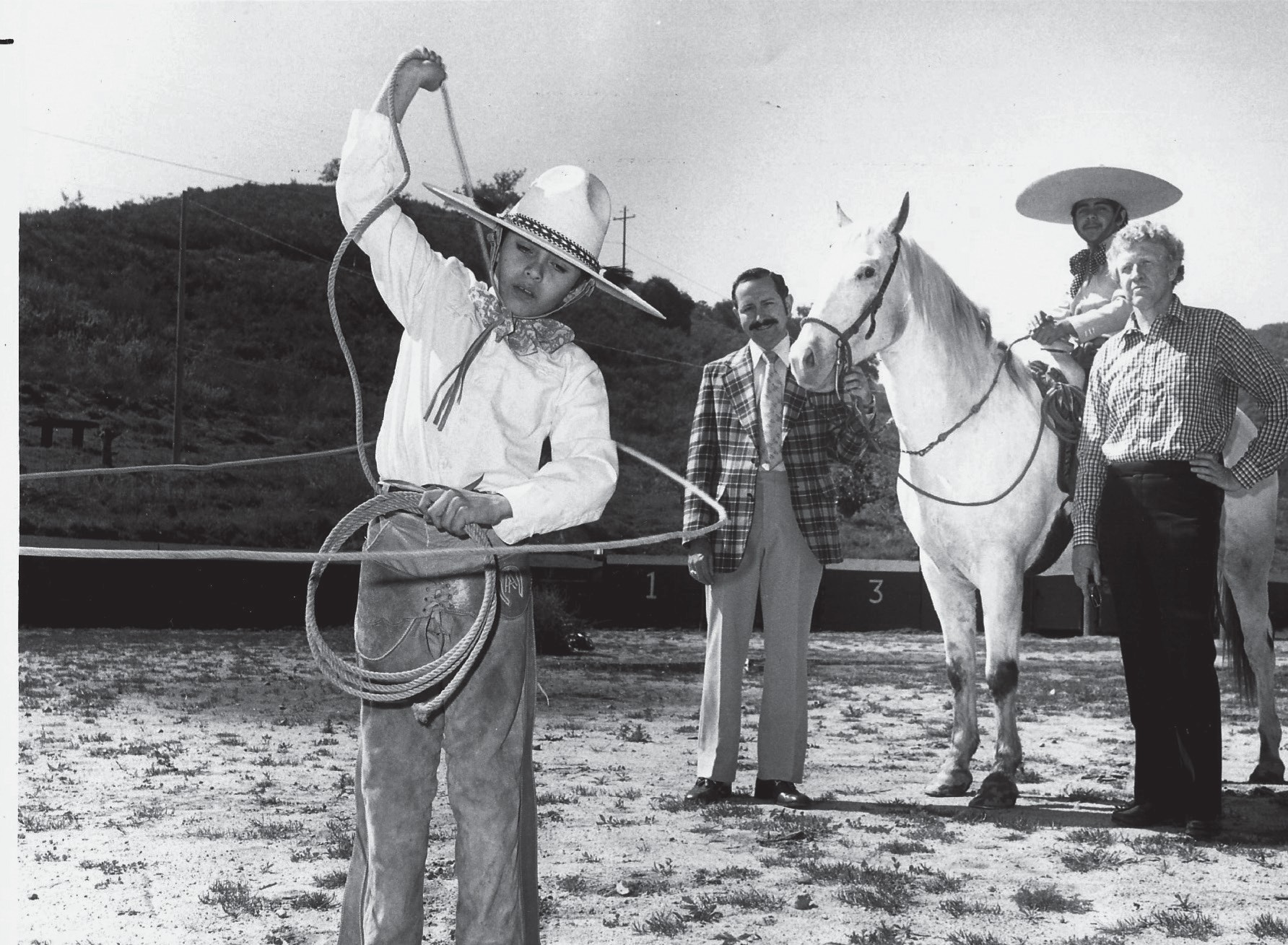 Tony was born into a family steeped in the Charreria tradition of rodeos, color­ful and spangled clothing and broad sombreros that derived from the horse­manship traditions of Spain. His family helped to start the Charro tradition in Escondido.