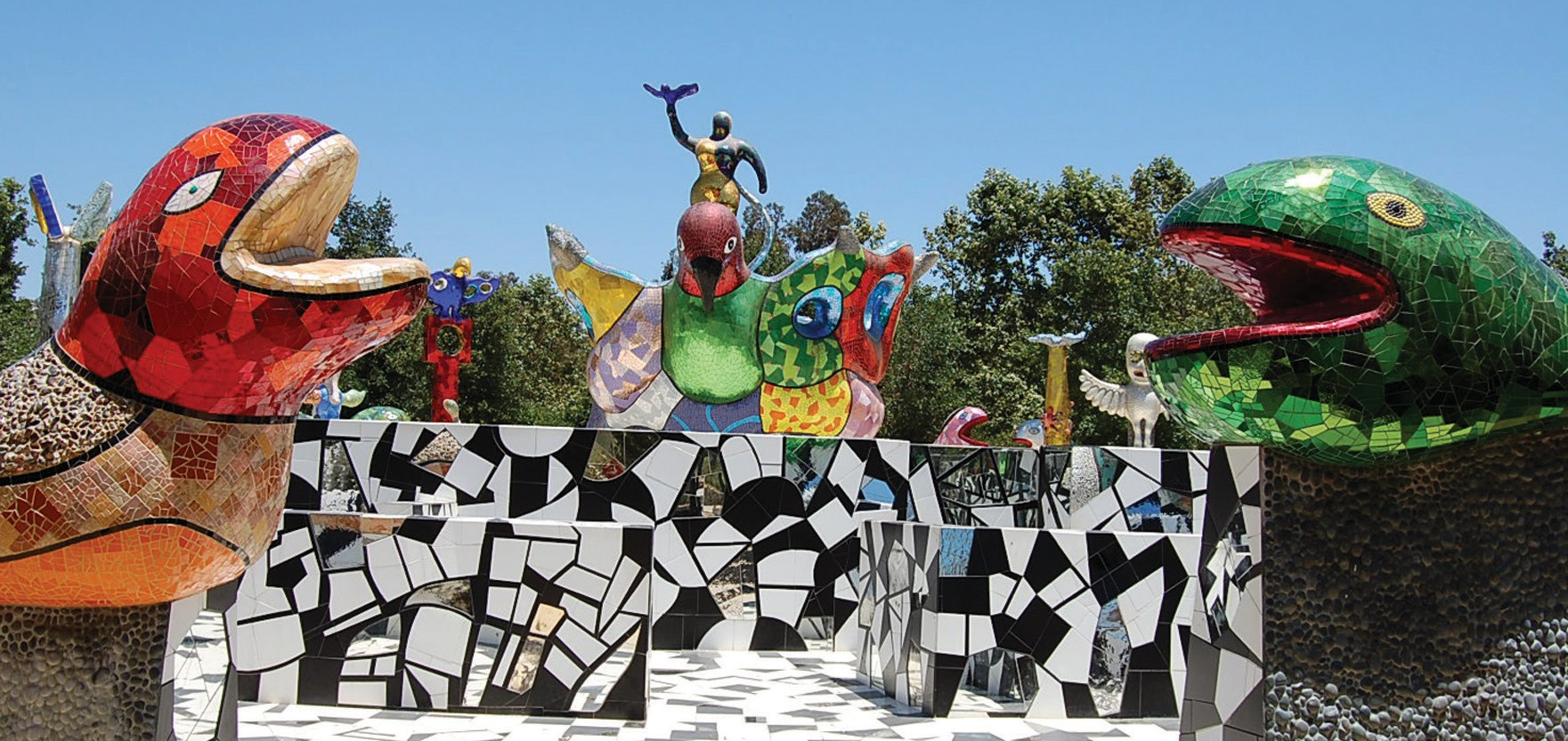 The city of Escondido is renovating Queen Califia's Magical Circle, but it's open to the public for a few hours this Saturday.