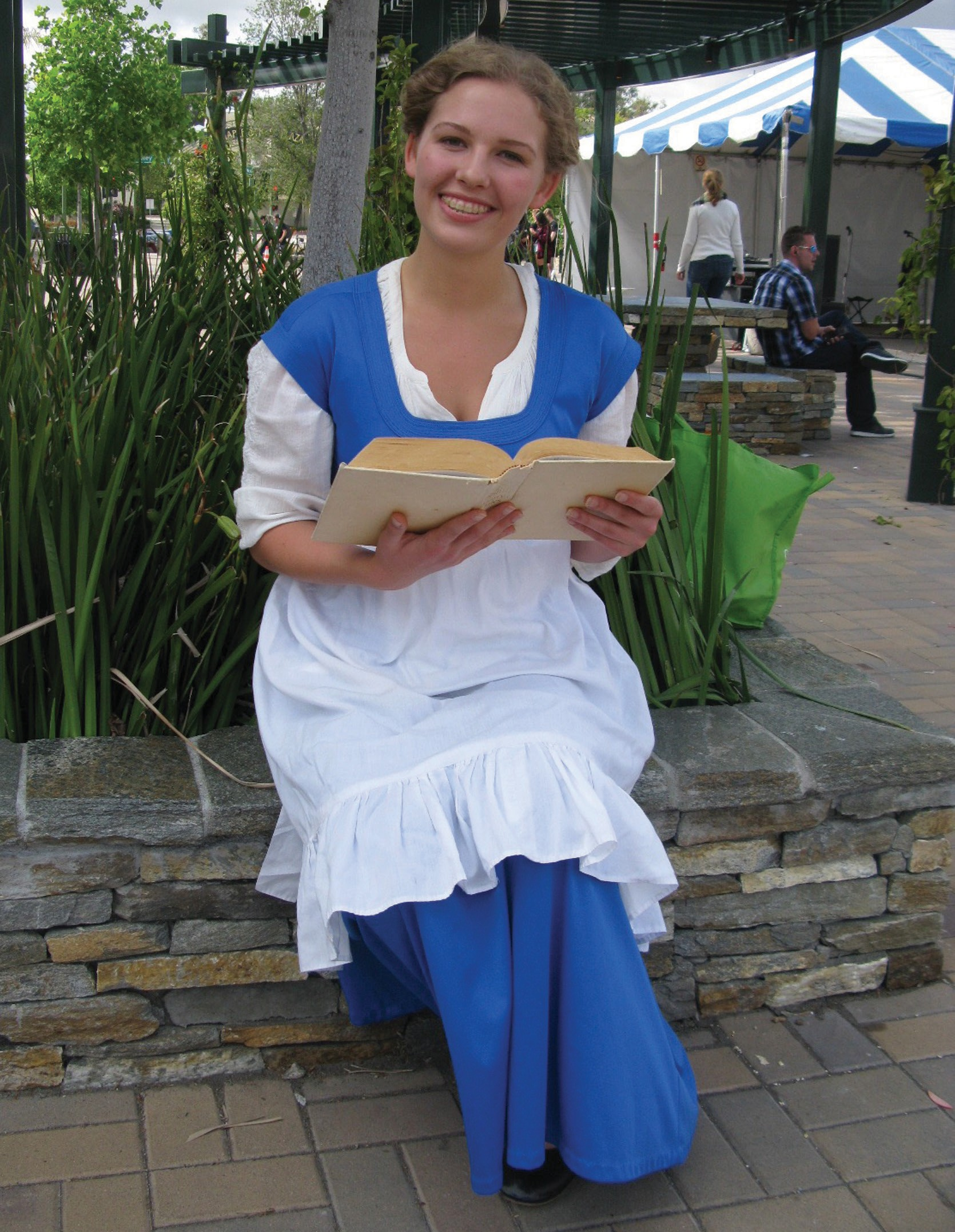 "Patio Playhouse's Carley Rhinehart sang a song from ""Beauty and the Beast""."
