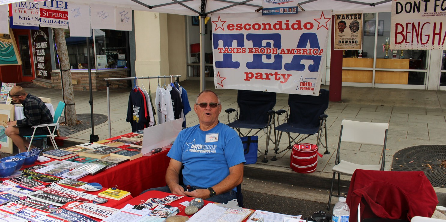 The Escondido Tea Party.