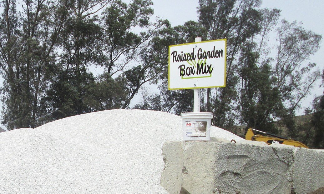 Sign advertising soil at the Frank Konyn Dairy in San Pasqual Valley. Photo by Mike Mahan