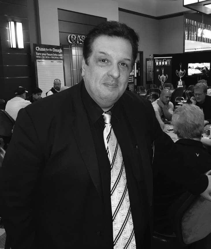 Pala Casino Poker Room Manager George Arsenis