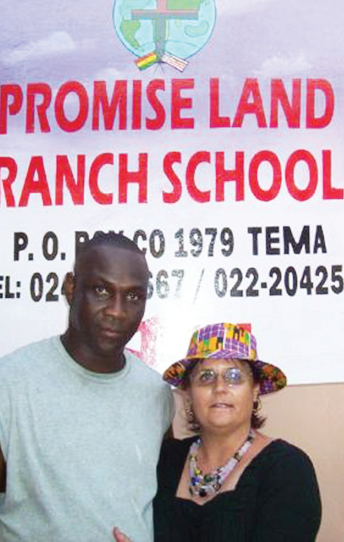 John & Tara Essien, founders of Promise Land Ranch School.