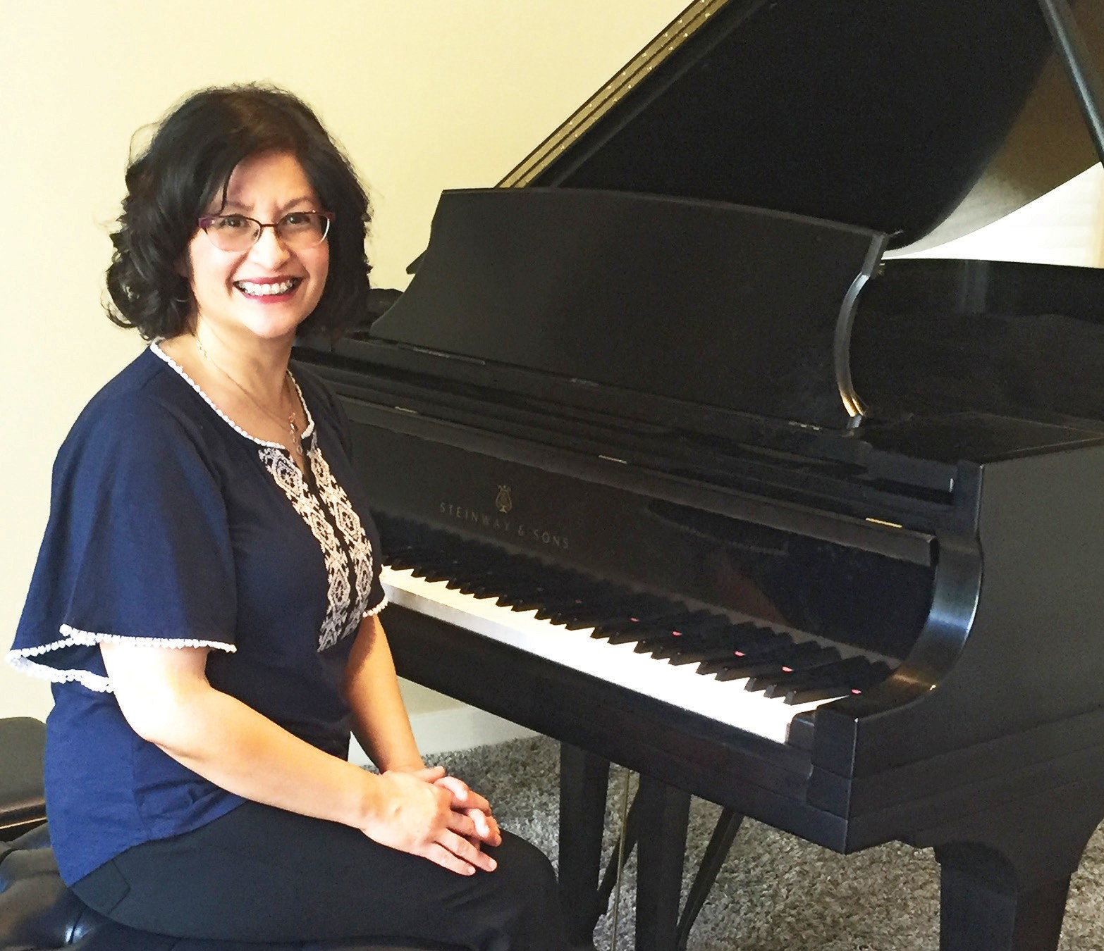 Edna Nerona will be one of 30 competitors in the San Diego International Piano Competition for Outstanding Amateurs taking place next month.