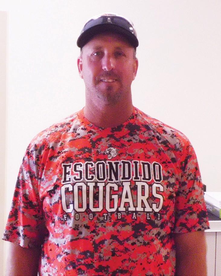Coach Aaron Hoofard was instrumental in guiding his team to an outstanding 26-win season.