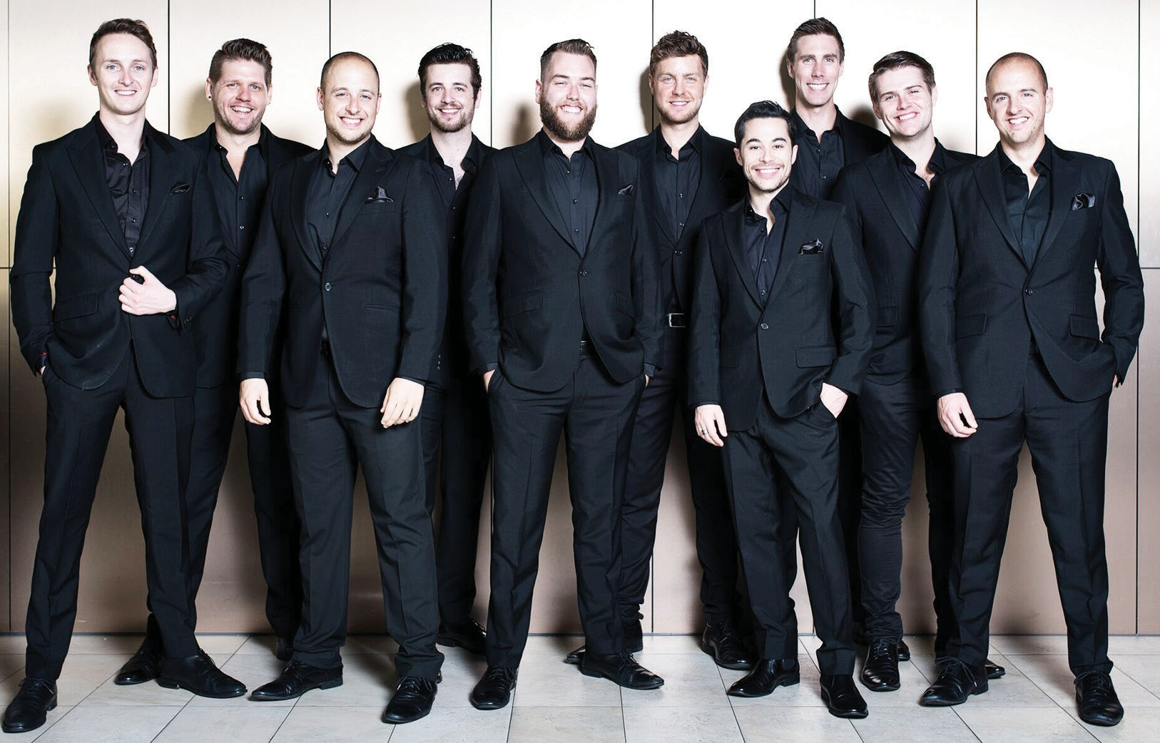 The TEN Tenors will bring their exalted voices to the Center in February.