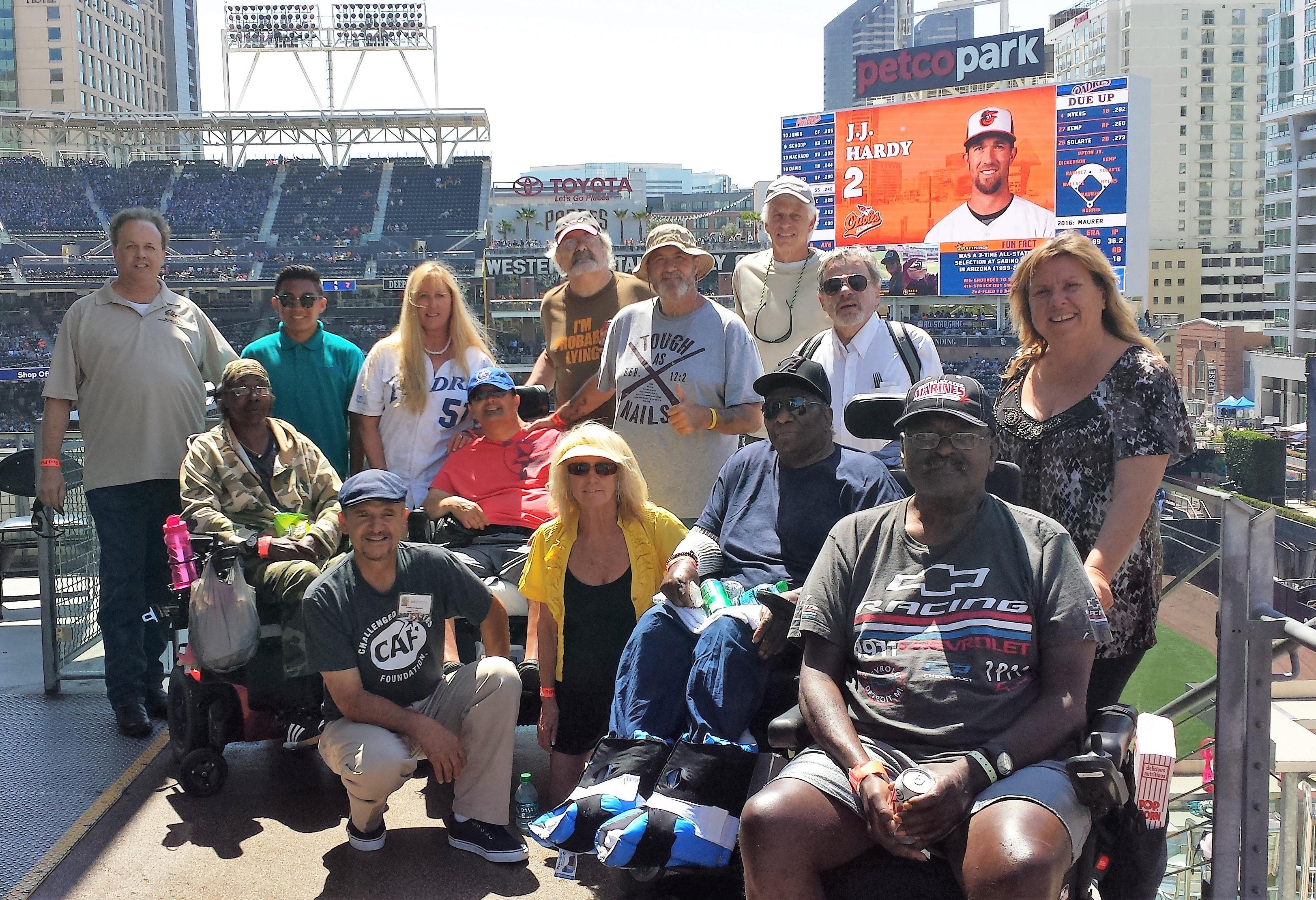 Ellen Berman, her staff, volunteers and veterans from the VA as well as several of the Elk members.