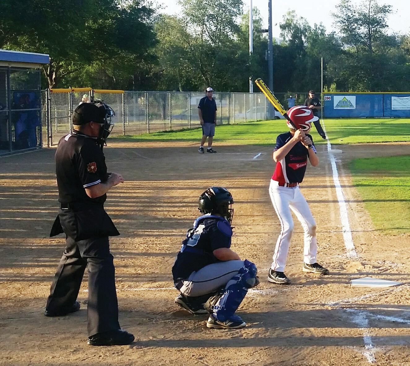 Little League action at Mountain View Park. Photo courtesy of National Little League.