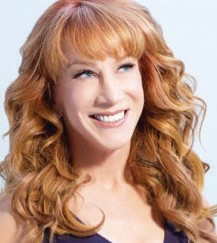 "Kathy Griffin has been nominated for a Grammy six times and in 2014 won the award for ""Best Comedy Album."""