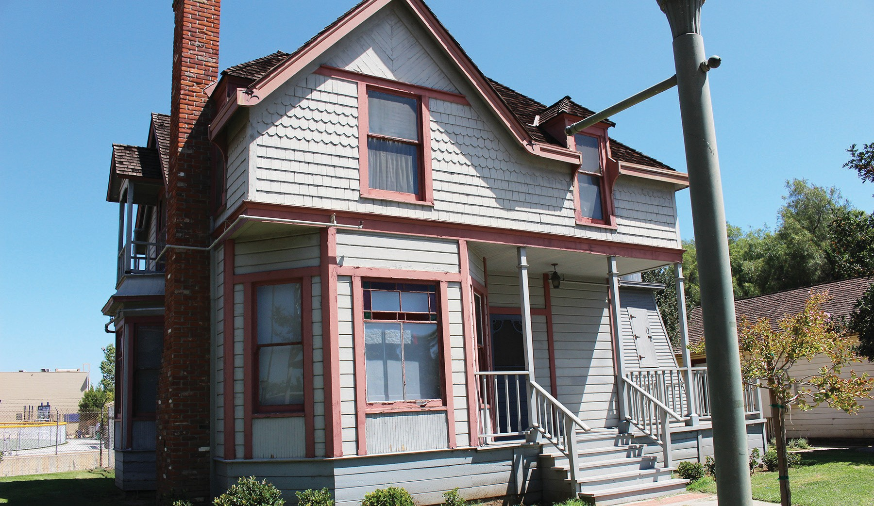 You might be tempted to think this is the home of Addam's Family, but it's actually the Victorian House at the Escondido History Center.