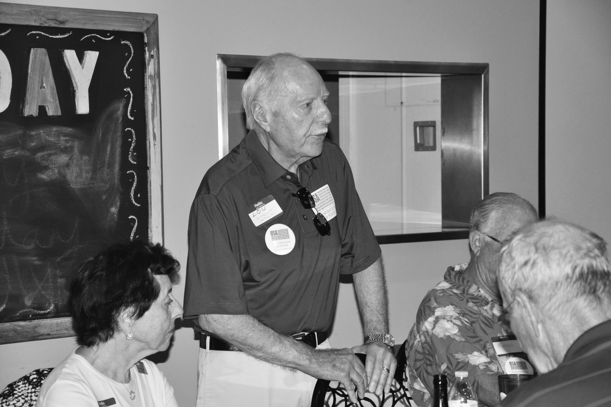 Lou Oberman-District Captain/CA Senate District 39/CA Assembly District 78 talks about why he joined the movement.
