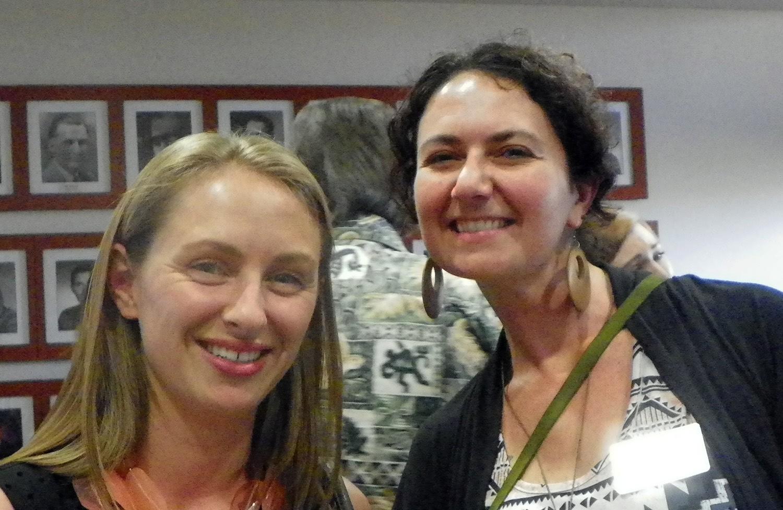 Sarah Lara-Toney and Wendy Taylor