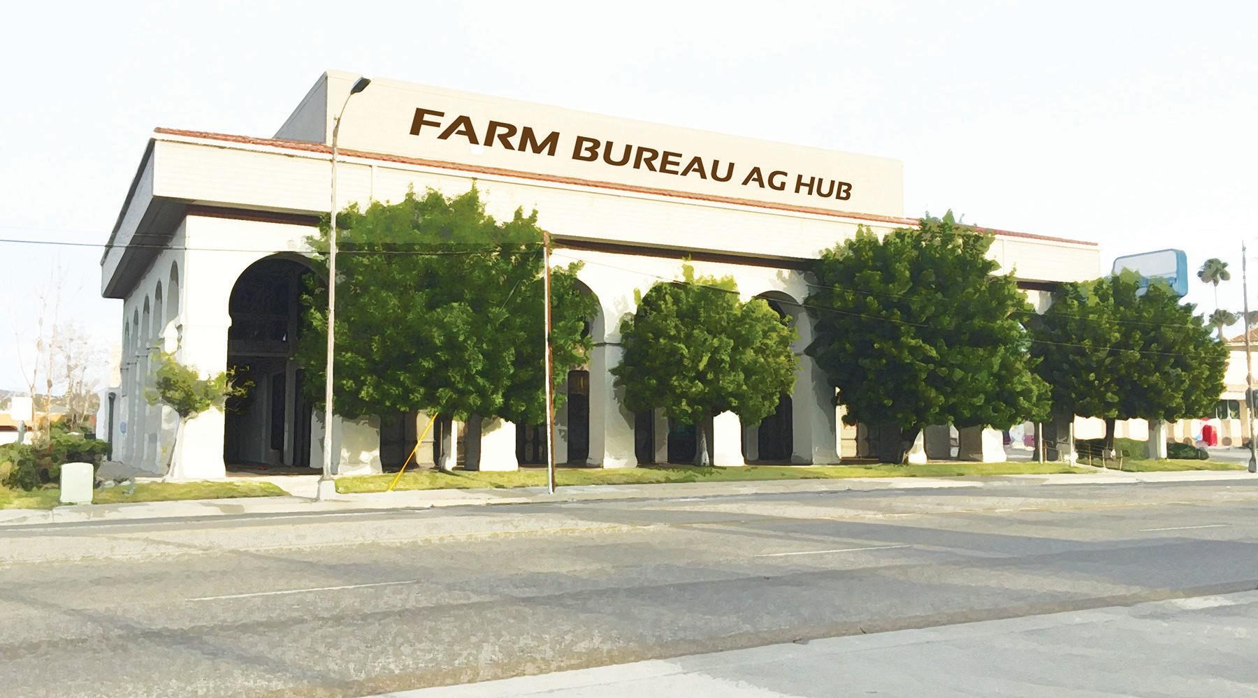 Artist's conception of the San Diego Ag Hub.