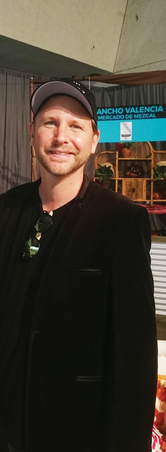 Tory Matthew Smith of Mercado de Mezcal in Escondido.