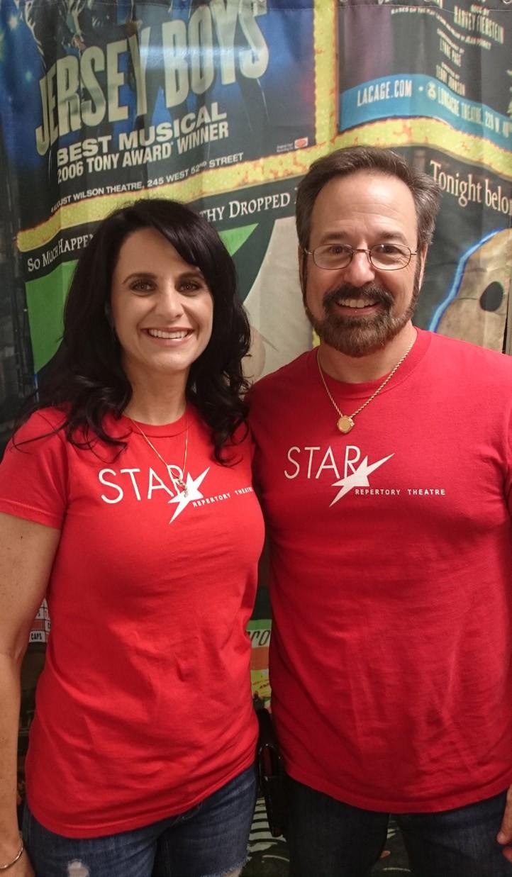 Meredith & Scott Kolod of Star Repertory Theatre in Escondido.