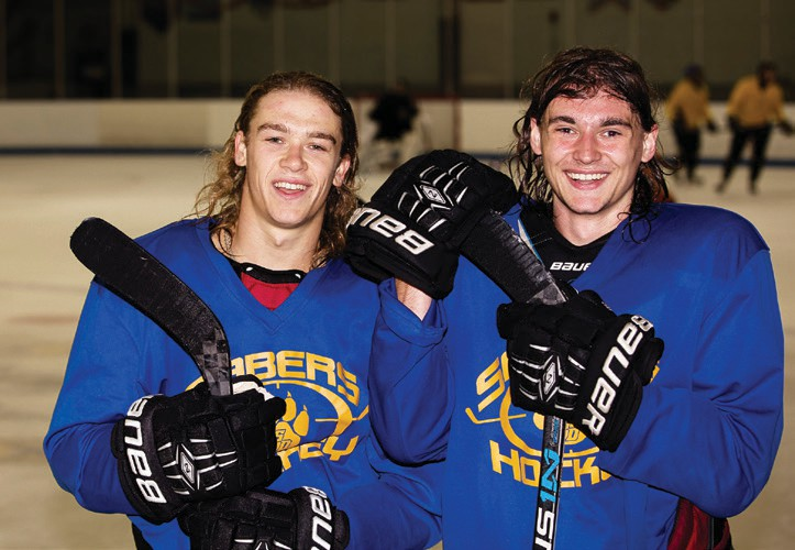 Forwards Steven Jackson (left) and Keegan O'Brien are the lone holdovers from last year's team and figure to be key offensive contributors.