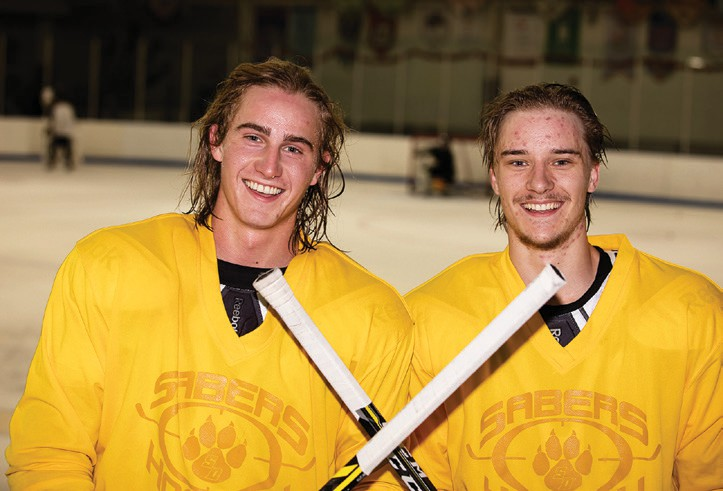 The defense will be anchored by the formidable duo of Oskar Johansson (left) and Mattias Eklund.