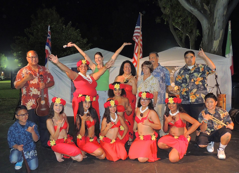 Many multicultural dance groups entertained the thousands who turned out for the Grape Day Festival on Saturday. Photo by Angel Aguilar
