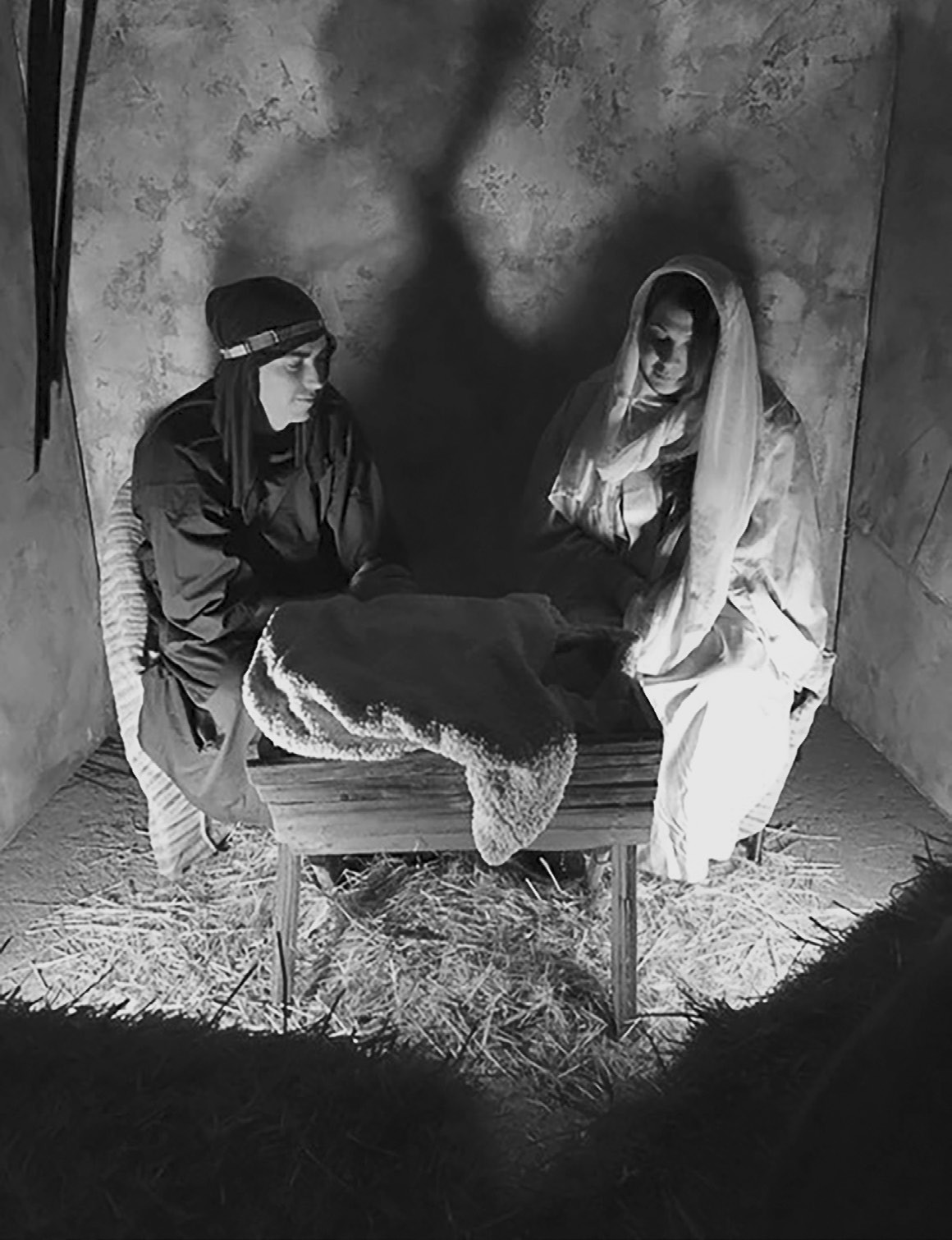 The reenactment of the nativity is one of scenes recreated in the Bethlehem Walk.