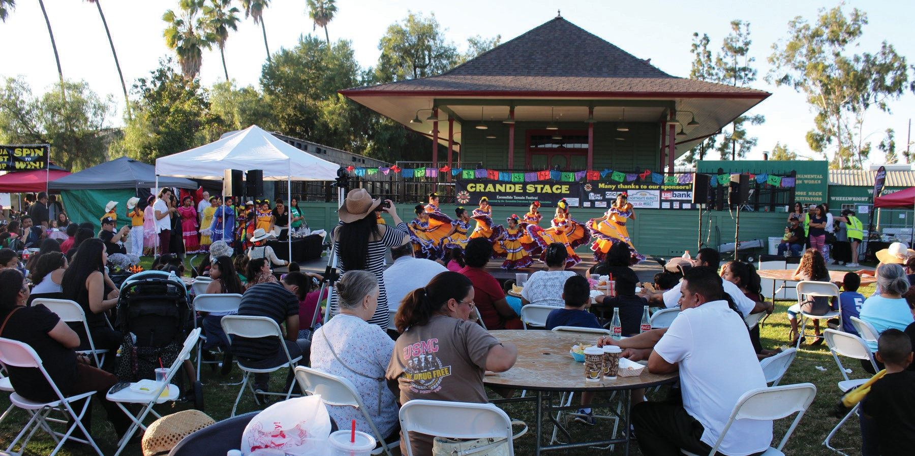 The 2nd annual Escondido Tamale Festival Saturday attracted as many as 12,000 attendees. See more photos on page 16.