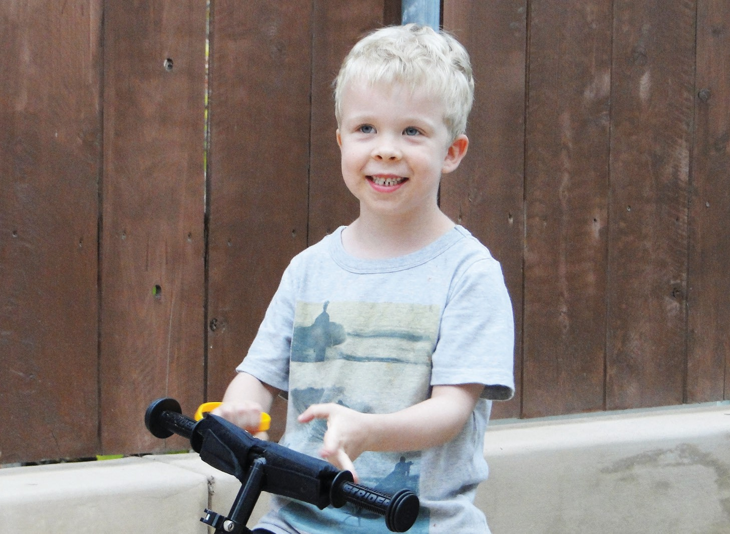 Ryan Morrow is a normal-looking little boy who has Duchenne Muscular Dystrophy, which threatens to limit his life.