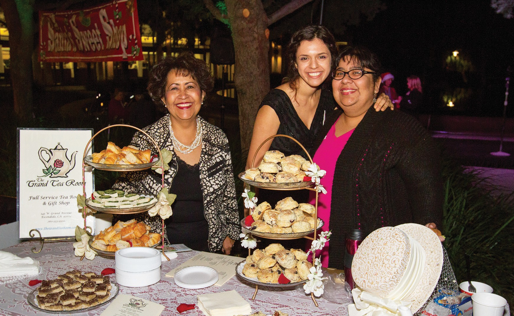 The Grand Tea Room will be one of the vendors offering sweets.