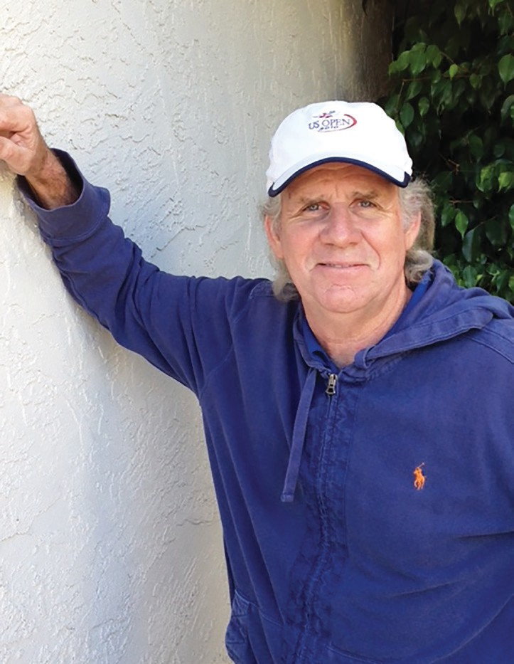 The writer, Jim Tal Evans.
