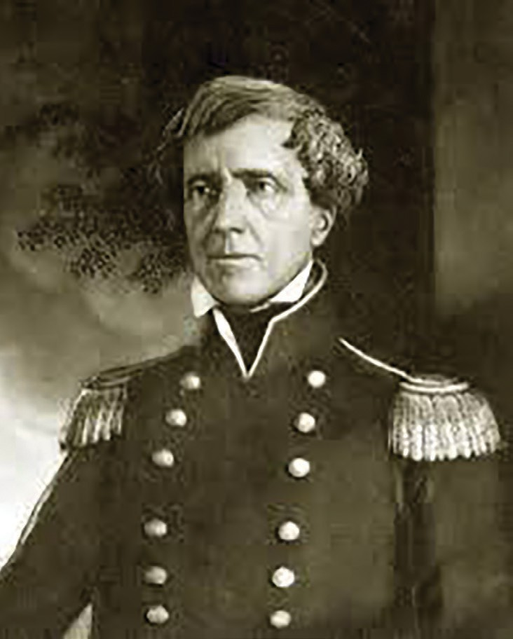 General Stephen Watts Kearny, who led the American forces at the Battle of San Pasqual, December 6, 1846.