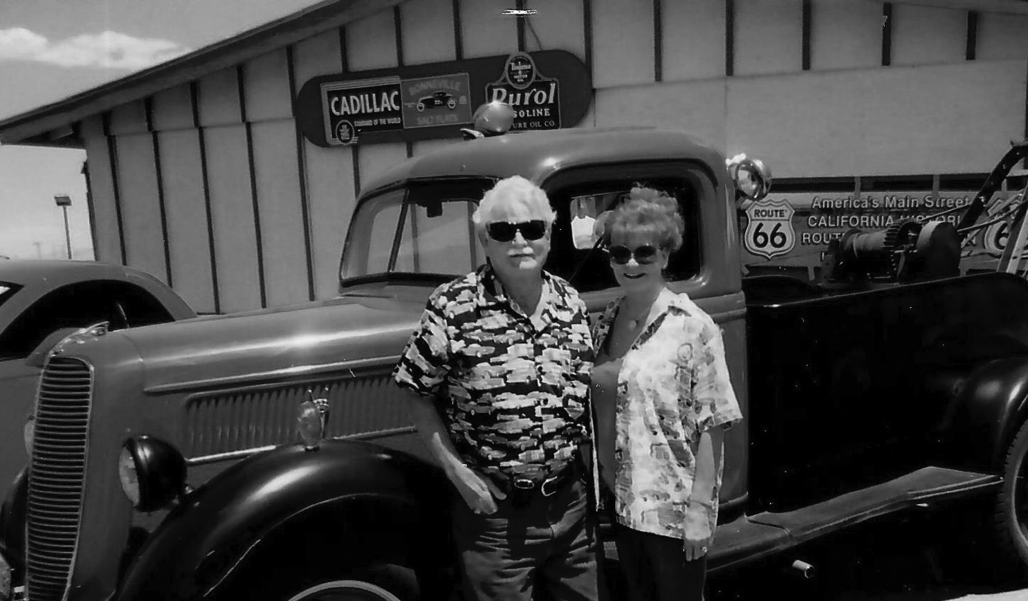 """C.A. & Debbie Stevens of Apple Valley will be the grand marshals of the parade. Their Summit Inn Diner was a legendary stop along the old """"Route 66."""""""