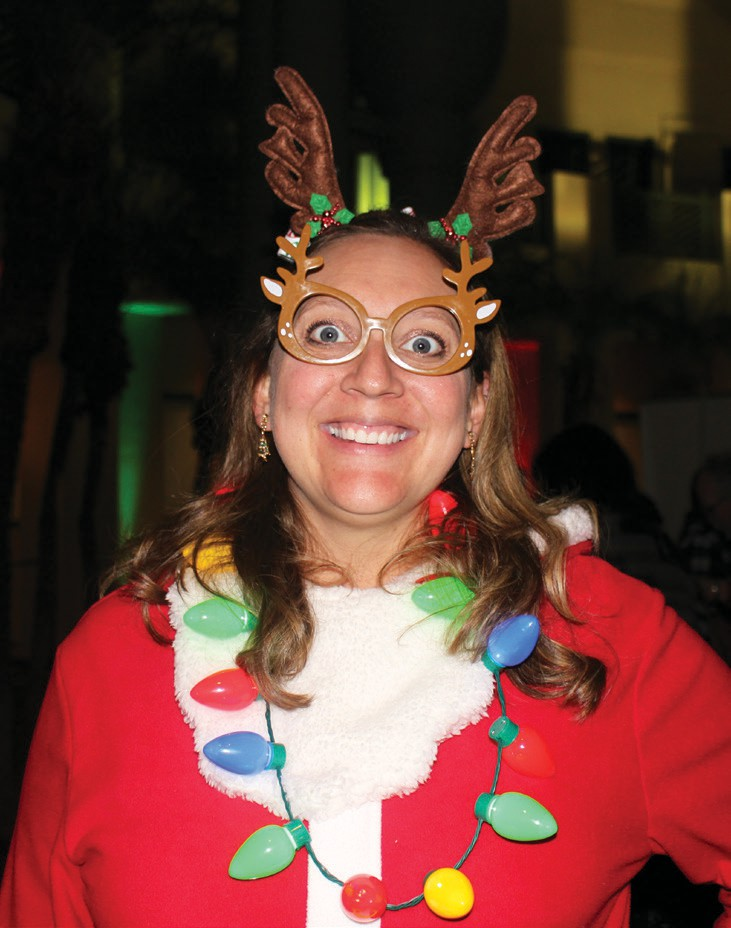 Teresa M Collins, the City of Escondido's newly appointed director of Special Events & Economic Development was a sprightly presence at Wednesday's event.